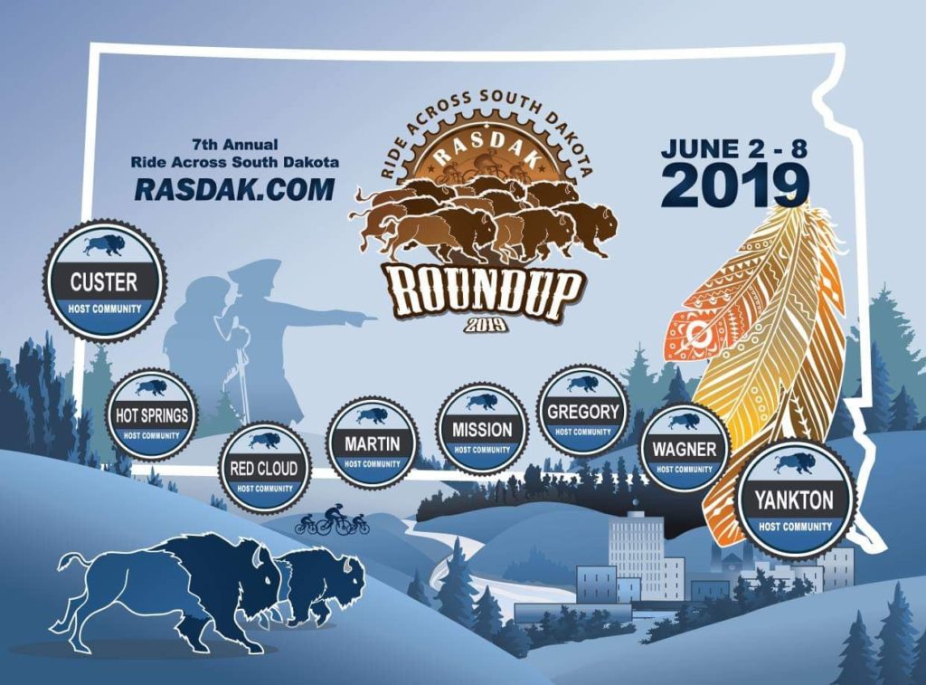 RASDak 2019 Route